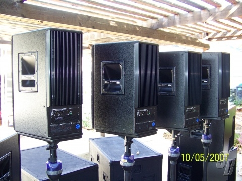 Listing Meyer Sound Powered Ultra Package Detail Pa