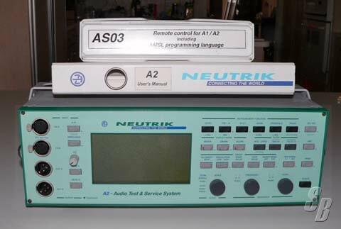 Tx-a2 ‐ audiokonverter sym. In unsym.