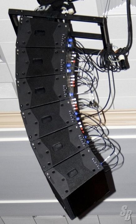 Listing Tvi C210a Line Array Speaker System Detail