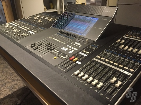Console monitor product listing for Yamaha m7cl dante